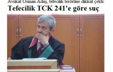 Tefecilik TCK