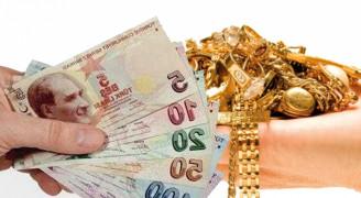 Senetle Altın Para